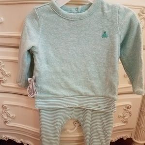 Baby boy or girl reversible outfit